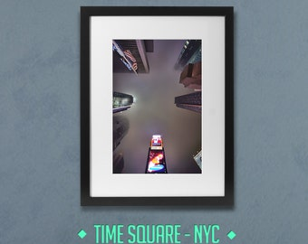 Foogy Time Square - New-York City