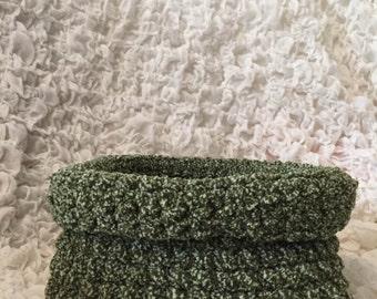 Soft wool basket