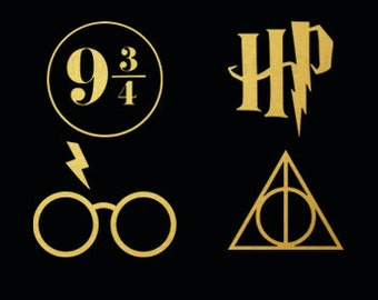 Harry Potter Svg, Harry Potter Cut Files, Svg, use with Cricut & Silhouette