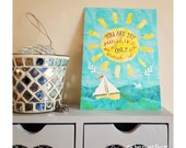 You Are My Sunshine - postcard