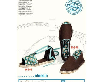 classic espadrilles - Instruction videos and sewing patterns by Prym