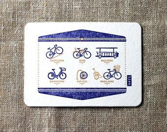 Bikes of Denver Postcard