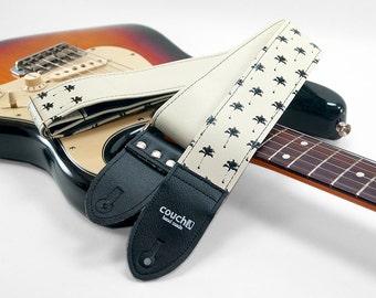 Palm Tree Guitar Strap- Royal Palms Ready To Rock