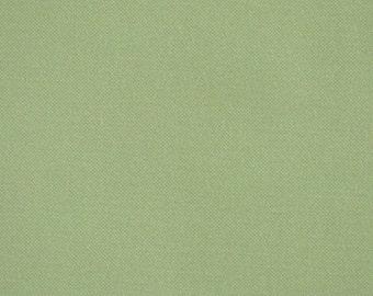 Light Pistachio Green, 1980s Vintage, Fashion or Craft Fabric, Medium Weight, Fine Cotton, half yard, B7