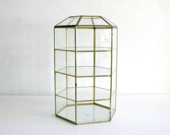 Large Glass Terrarium Box