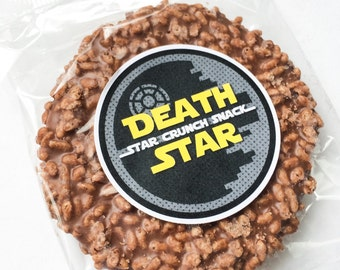 Star Battles. Cookie Character Treat Tags. DIGITAL DOWNLOAD. DiY Printable Design. Pinkadot Shop
