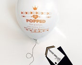 Will you be my Bridesmaid Balloon Personalized Gifts