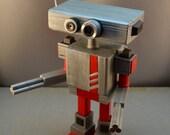 Large Robot Sentry Desktop Sculpture