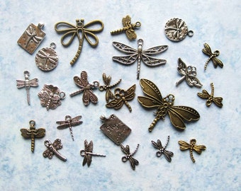 Dragonfly Charms and Pendants Collection - C2283