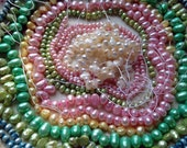 Destash Colorful Freshwater Pearl Beads Mixed Bead Lot Pastel Pearls Supplies DIY Collection