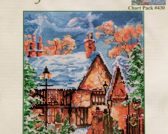 Marty Bell | Counted Cross Stitch Pattern | SING A SONG For CHRISTMAS | Adaptation | Mildred Hinnant Hedgepath | Pegasus Publication