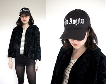 LOS ANGELES Black Baseball Cap