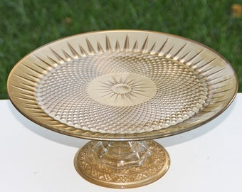 Gold Cake-Cupcake Stand Shabby Chic Vintage Made To Order
