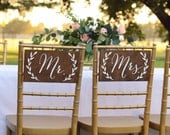 Mr and Mrs signs, Mr and Mrs chair signs, Mr and Mrs table sign, Mr Mrs signs, Mr Mrs chair signs, Mr Mrs banner, Mr and Mrs wooden signs