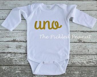 1st Birthday Onesie 1st Birthday Shirt One Birthday Shirt uno Birthday Shirt Greek Baby French Birthday Shirt Baby Girl Italian Baby Girl