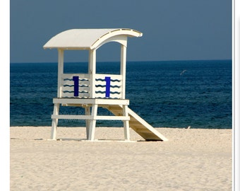 Lifeguard Stand Photography