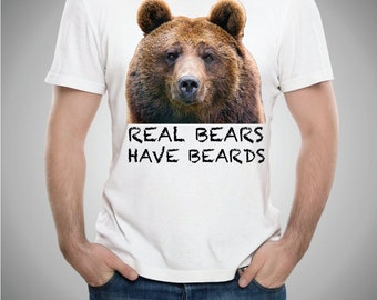 Real Bears Have Beards Tee