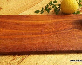 Modern Blackwood Serving Platter, chopping board, cheese board. kitchen board