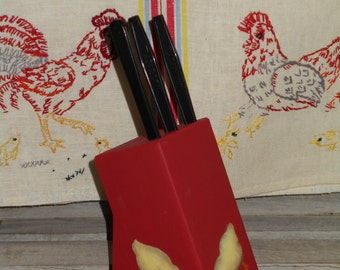 Baby Chick Knife block