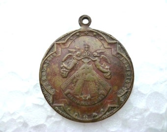 Antique Medal - Our Lady Of Altötting Bavaria Germany - Gnadenkapelle