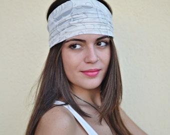 Viscose Headband, Ivory Headband, Bandana Headband, Elastic Headband, Fitness Headband, Vintage Headbands, Turban Headband, Womens Turban