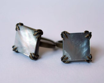 The Claws - rings (mother-of-Pearl), claw, dragon, Raven, mop