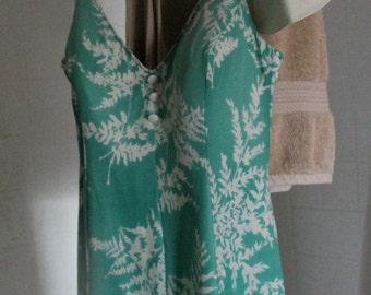 Ladies Vintage Bathing Suit c1960s PRICE REDUCED