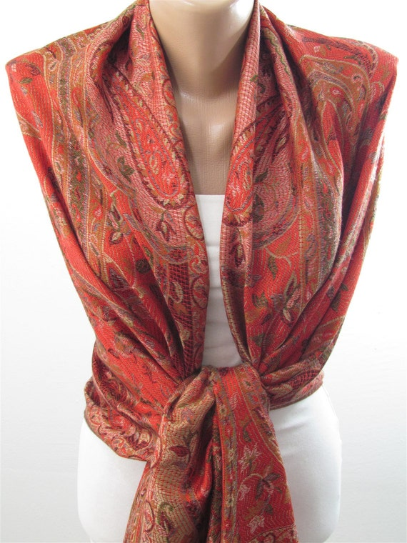 valentines gift for pashmina scarf scarf by scarfclub