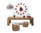 Rustic wall decor for liv...