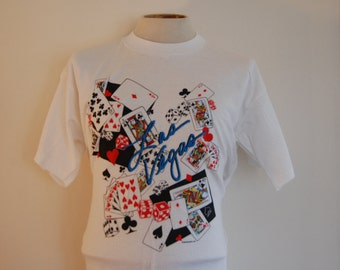 1990's Las Vegas Vintage Screen Stars T-Shirt Size Large
