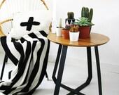SHUNAN / Side Table/ Puik Art / Amsterdam/Steel/Ash/wood/Livingroom/Interior/Dutch/Design/gift/present