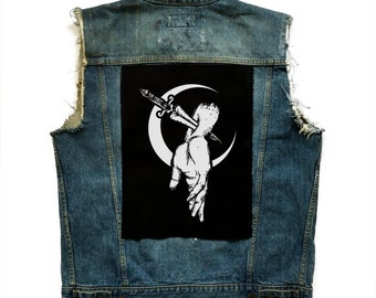 Hand of sacrifice Back Patch | Patches | Punk Patches
