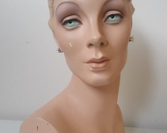 Deco Eyes Mannequin Head Form