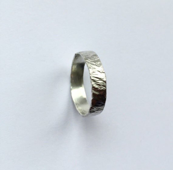 Silver Wheat Ring - Recycled Sterling Silver Ring