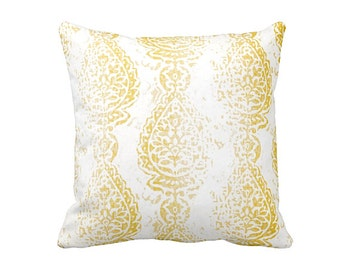 7 Sizes Available: Decorative Pillow Yellow Throw Pillow Cover Yellow Pillow Covers Yellow Cushion Cover 20x20 Pillow Cover Yellow Decor