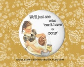 Retro, Scary Kids, Hot Chocolate, Kitschy Kitchen Magnet, Dark Humor Party Accessories, Inexpensive Halloween Party Favors, 2.25 pin magnet