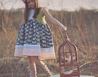 Girls spring dress, girls summer dress, girls butterfly dress, butterfly, girls sundress, lace dress, birthday dress, girl's fall dress