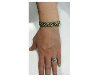 Friendship bracelet, micro macrame bracelet ,beaded bracelet, boho bracelet , OOAK bracelet