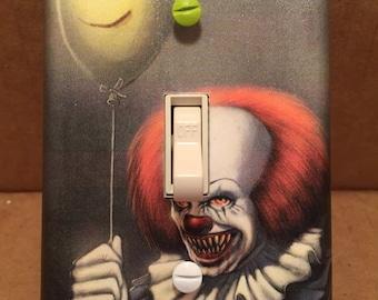 Stephen King's IT Light Switch Cover (Handmade, Horror)