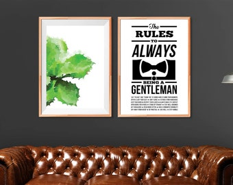 The Rules for Always Being A Gentleman