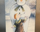 "The Snowman 1982 Academy Award Nominee ""Best Animated Short Film"" Raymond Briggs Movie 1993 VHS Tape"