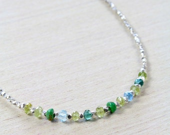 Karen Silver Forest Necklace