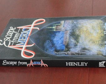 Escape from America by Wallace Henley. SIGNED. First Edition. Softcover book.