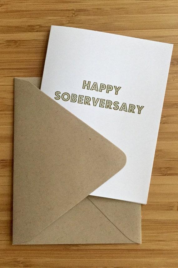 sobriety anniversary cards