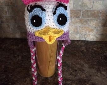 Crochet Disney Ear Flap Hats