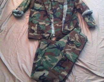 Authentic Surplus Army Uniform  - 4 piece set