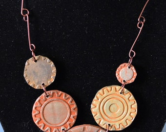 Steam-punk Reversible Necklace