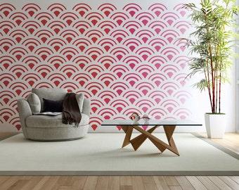 Retro Wall Decor circle wall decor | etsy