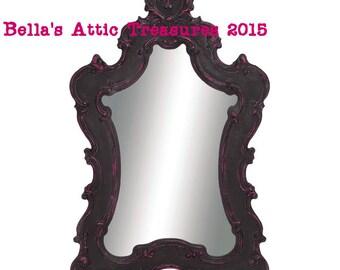 baroque mirror shabby chic mirror ornate oval mirror large w