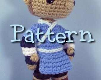Sokka Avatar the Last Airbender Crochet Amigurumi Pattern